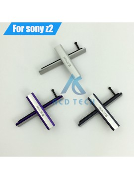 Sony Xperia Waterproof USB Charging Port Dust Plug Cover + Micro SD Port +SIM Card Port Slot Cover