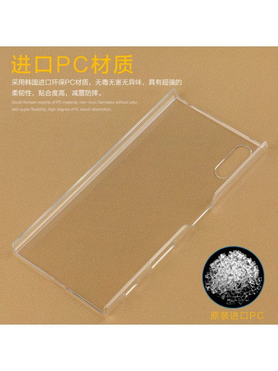 Ultra Clear Crystal Transparent PC Back Case Cover Shell for Sony Xperia XZ, XZ Premium XA