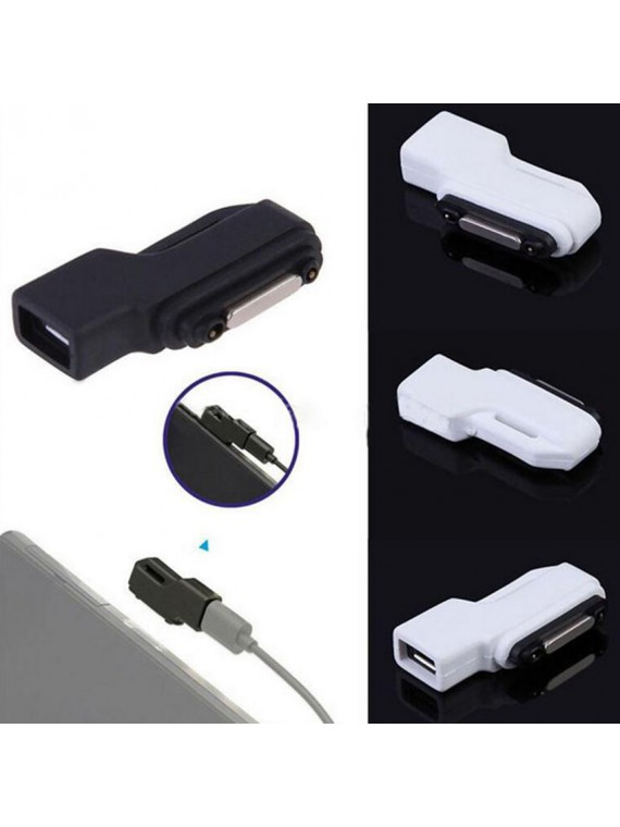 Sony Xperia Magnetic Fast Charging USB Cable and Converter